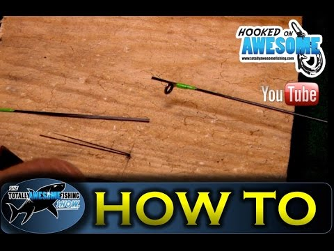 How to Repair a Broken Carbon Fibre (Fiber) Fishing Pole ...