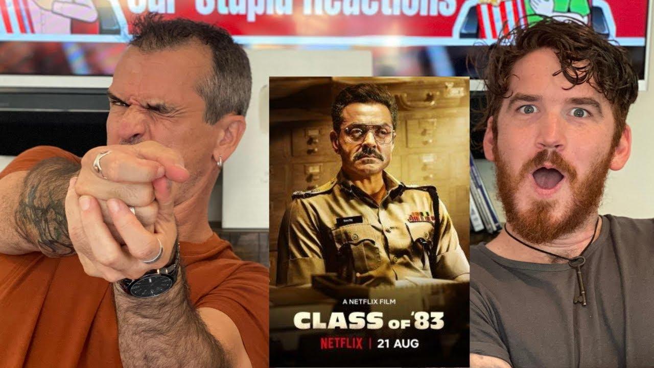 CLASS OF '83 | Bobby Deol | Netflix India REACTION!!