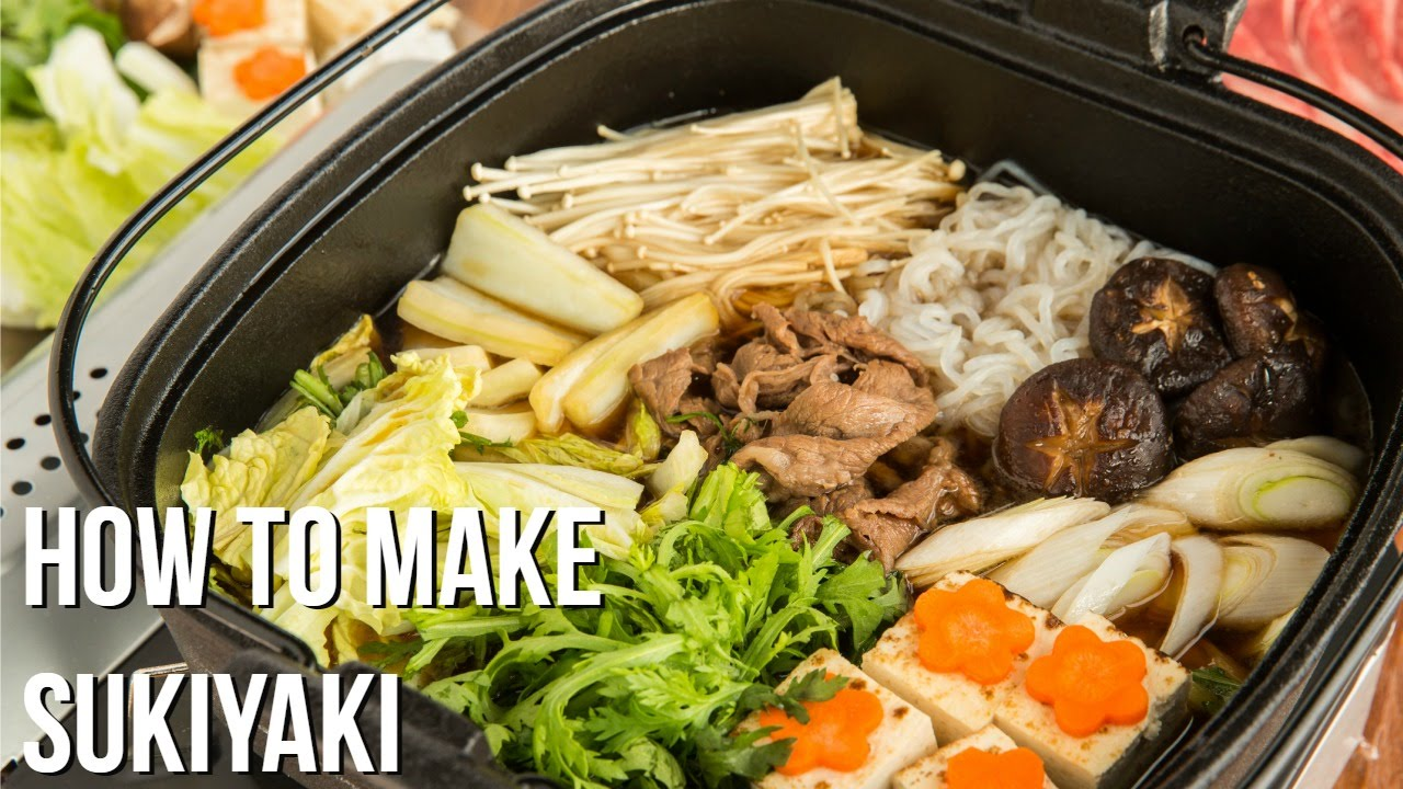 How To Make Sukiyaki (recipe) すき焼きの作り方 (レシピ)  Youtube