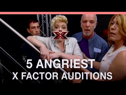 5 Angriest X Factor Auditions