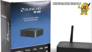 Sidex.ru: Видеообзор HD Media Player Dune HD TV-101w