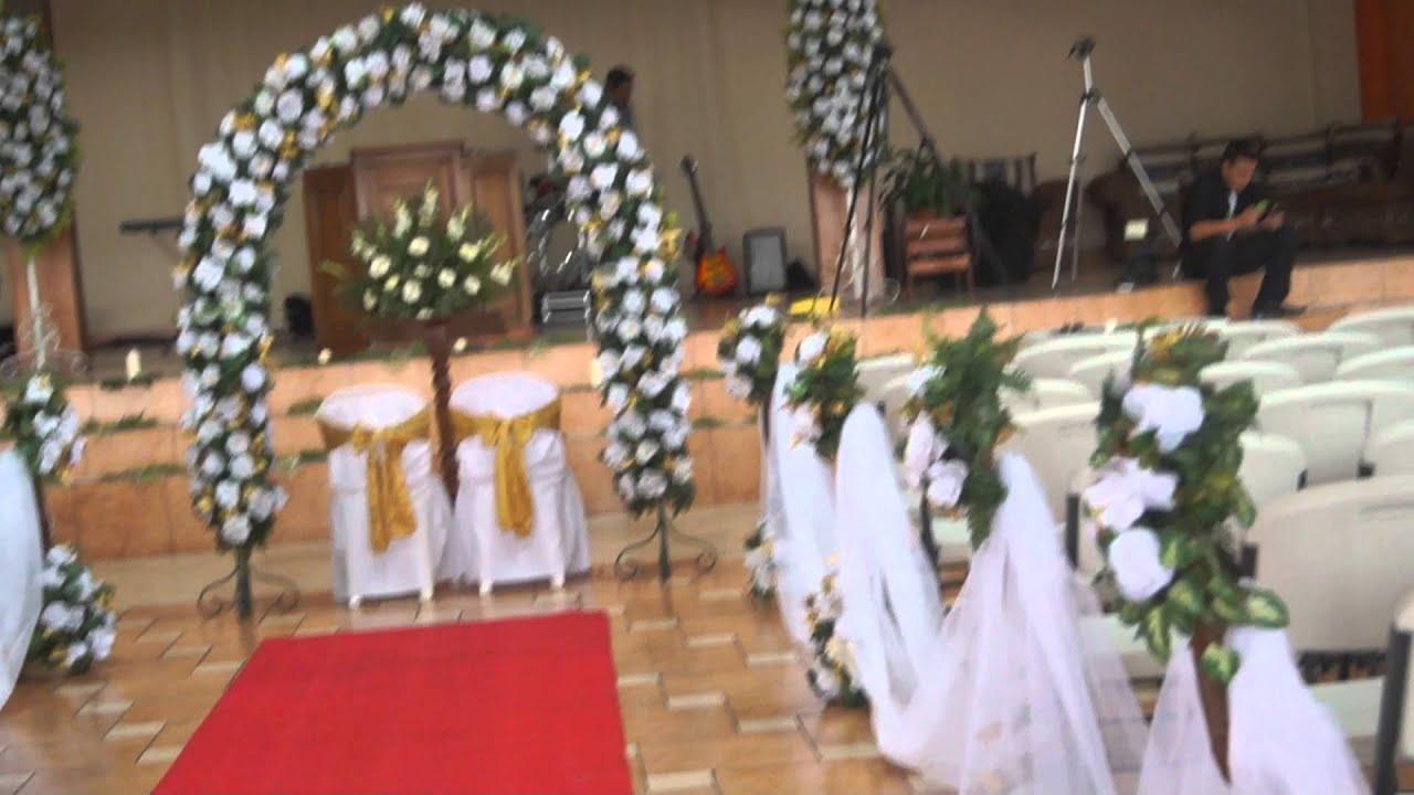 Decoracion Altares Iglesias Evangelicas ~   El Mana, Decoraci?n Artificial Iglesia Cristiana  YouTube