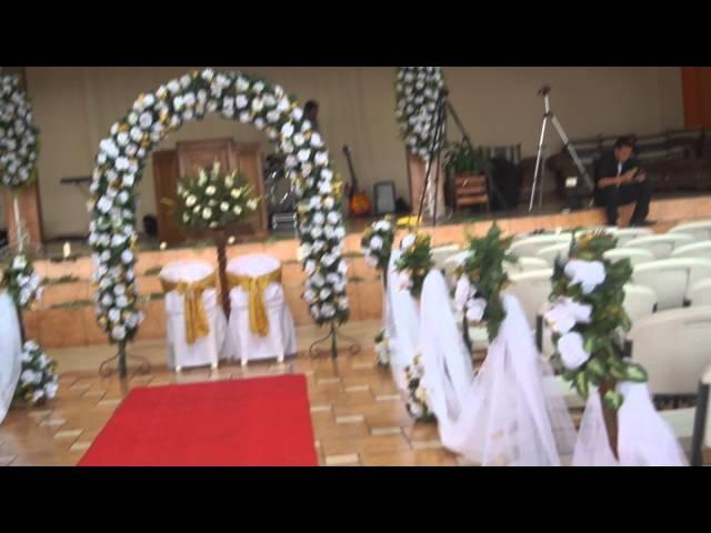 Flores Para Iglesia Y Bodas Decoración Iglesia Boda
