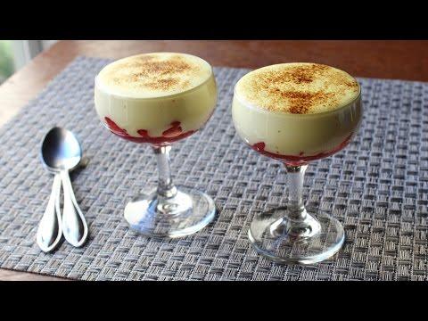 Zabaglione – Italian Warm Custard & Fruit Dessert – Valentine's Day Special!