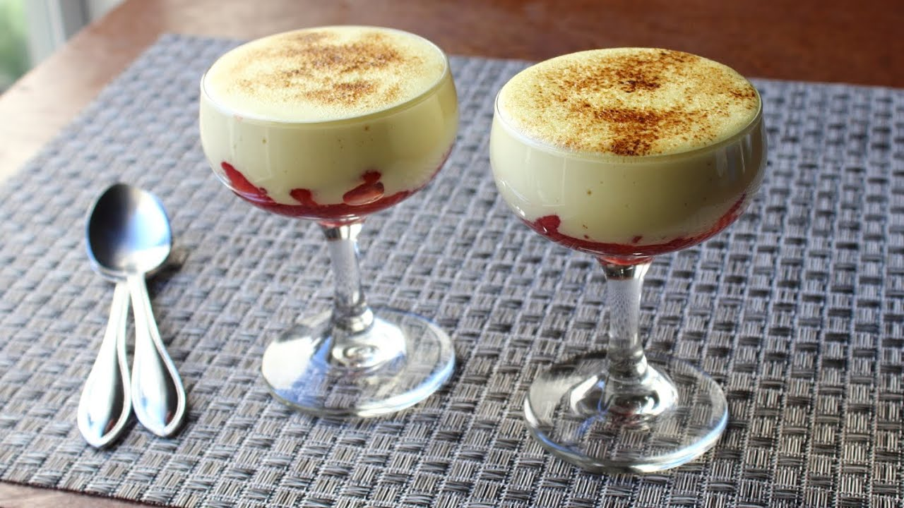 Zabaglione - Italian Warm Custard & Fruit Dessert - Valentine's Day ...