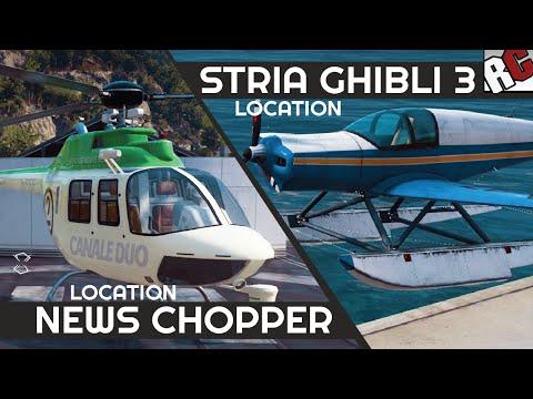 Just Cause 3 | Stria Ghibli 3 & News Chopper Locations - Caught Em All  Achievement/Trophy