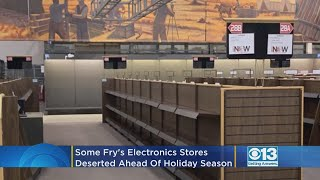 Why Are Fry's Store Shelves Empty Two Weeks Before Christmas?