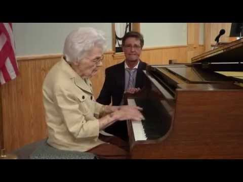 Mrs Ellen plays,