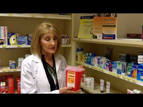 Safe disposal of old medications from Advocate Good Samaritan Hospital
