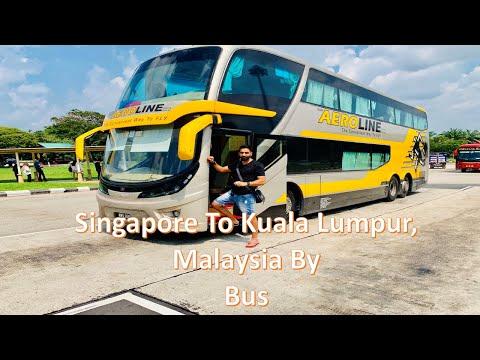 #travel #SingaporeToMalaysiaBusService     Aeroline Bus Service in Singapore
