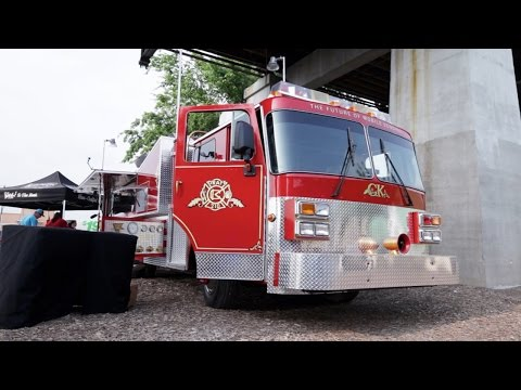 Fire Truck Food Truck Beer and Sausage Party