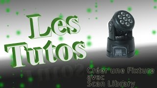 TUTO Scan-Library FRENCH - Mini Lyre Wash 7x12w Aliexpress
