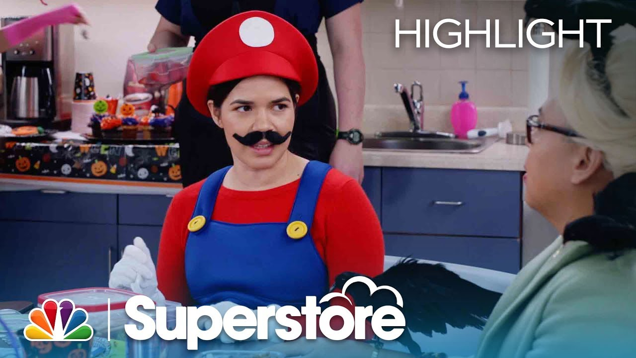 halloween costume stereotypes superstore