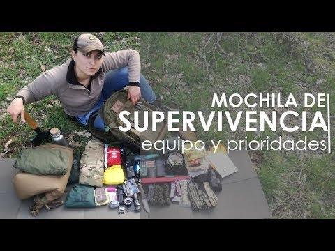 Mochila de supervivencia para acampada montaña o emergencias | Contenido, uso y recomendaciones
