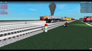 ROBLOX Union Pacific Locomotive at Strasburg Railroad