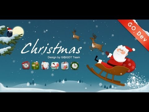 GO Launcher EX - Christmas Super Theme