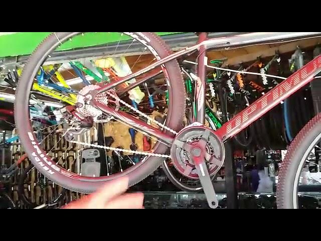 Bicicletas para la práctica del mountain bike mandan la parada