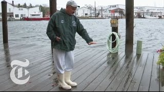 Hurricane Sandy Causes the Mystic River to Rise in Connecticut | The New York Times