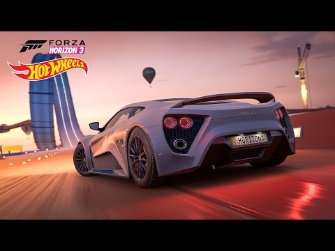 Hot Wheels Expansion Gameplay! First minutes - Forza Horizon 3