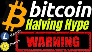 WARNING!! HALVING HYPE BITCOIN LITECOIN ETHEREUM and DOW JONES UPDATE crypto, trading, analysis news