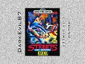 Streets of Rage (Sega Genesis) Round 1 (including Boss Fight)