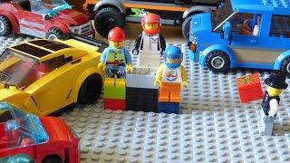 Лего мультфильмы. Филипп: История успеха. 1 сезон. 2 серия. Автогонки.(Лего мультфильмы. Вторая серия лего мультфильма: