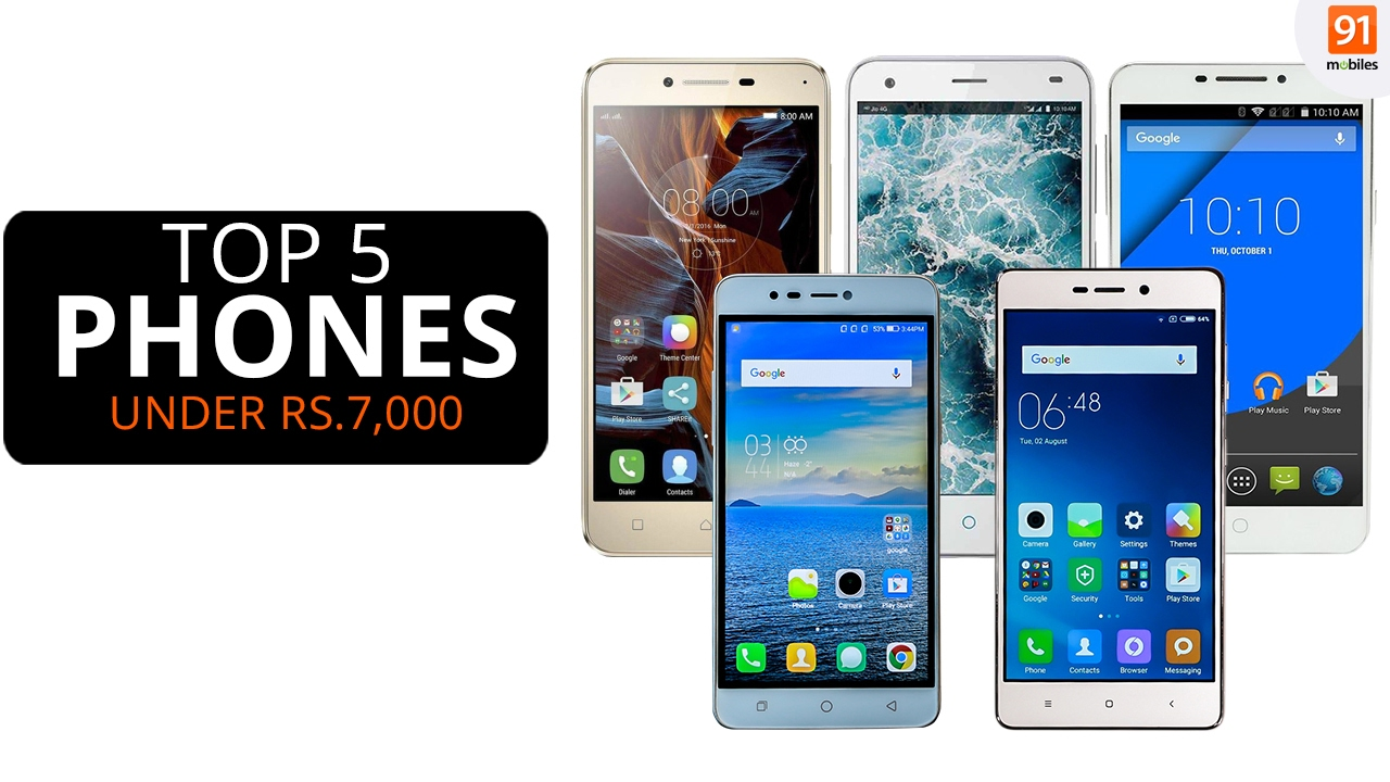 923f9e05b63d09 Best Mobile Phones Under 7,000 Rs | India (February 2017) [Hindi-हिन्दी] -  YouTube