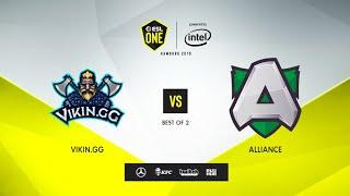 Vikin.gg vs Alliance, ESL One Hamburg 2019, bo2, game 1 [Mila]