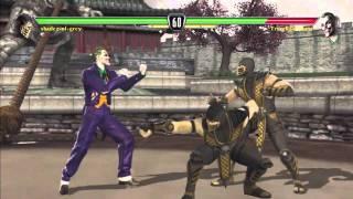 Mortal Kombat vs Dc Universe - Scorpion GLITCH'S - Rare Glitch - Watch in 720p HD!