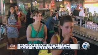 Bachelor and Bachelorette casting call at Tin Fish in St. Clair Shores