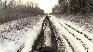 Квадроциклы. Прогулки по первому снегу 30.11.2013 (ATV Солнцево)(, 2013-12-01T21:20:47.000Z)