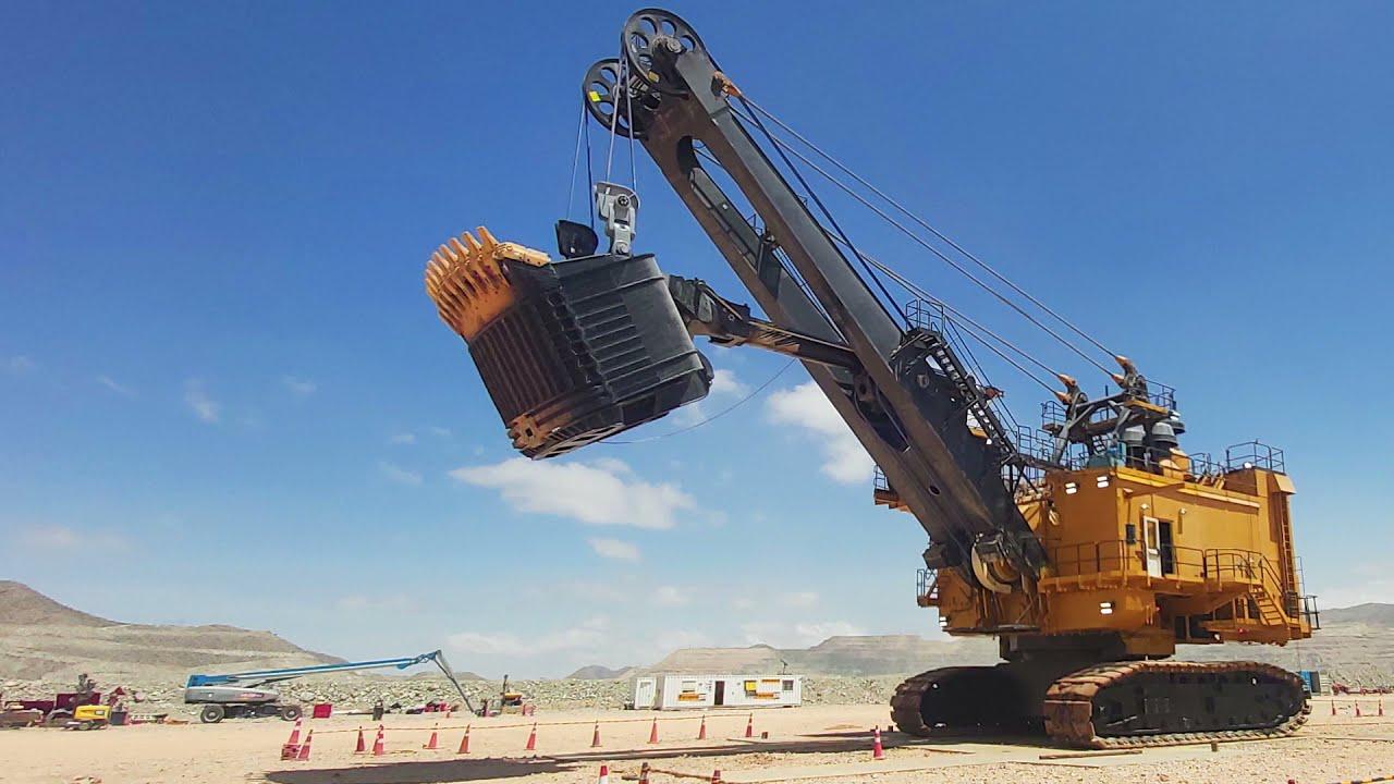 Perú: Ferreyros reconstruye la pala de cables Caterpillar más grande del país