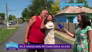 Rica Raducanu, emotionat la intoarcerea acasa