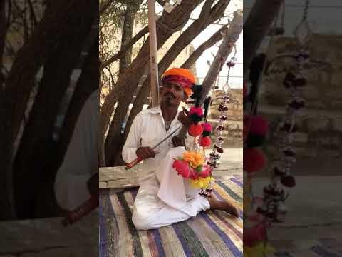 Udd Ja Kale Kawan - Gadar || Instrumental || Ravanahatha Mix || Rajasthani Folk Artist