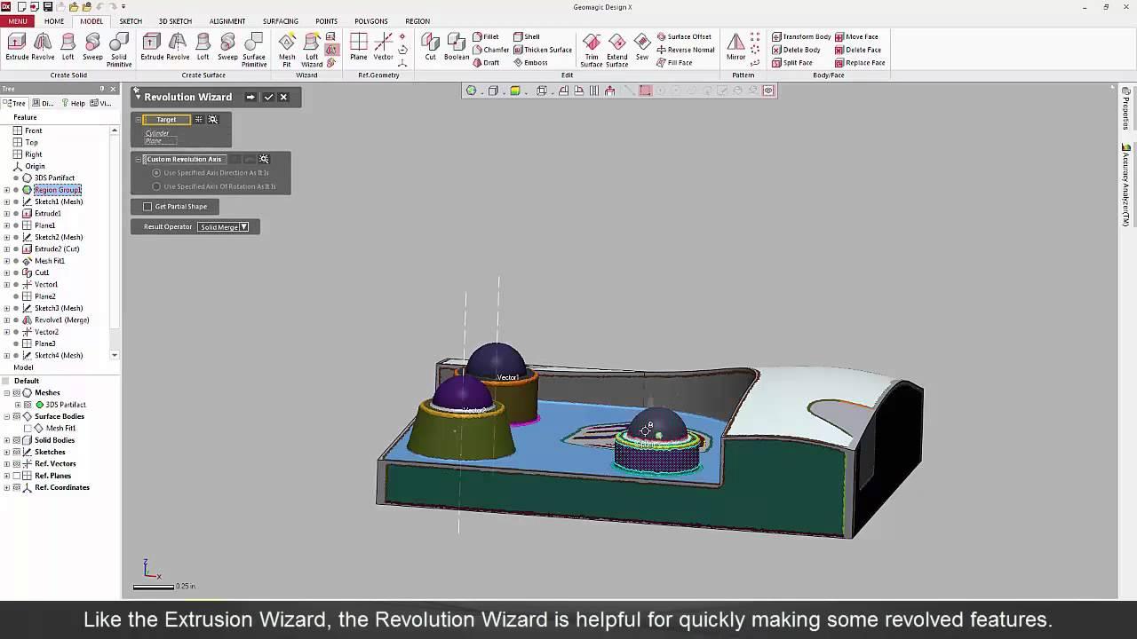 Geomagic Design X tutorials – Artec Support Center