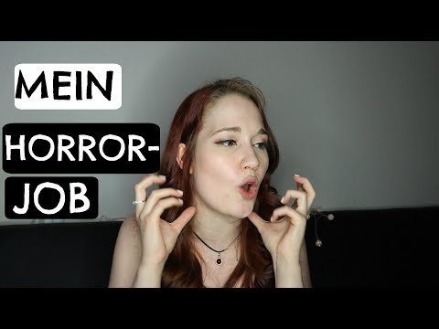MEIN ABSOLUTER HORRORJOB | STORYTIME