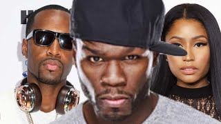 50 Cent REACTS to Safaree getting VIOLATED by dyckman Park crowd after HE INSULTED them #getthestrap