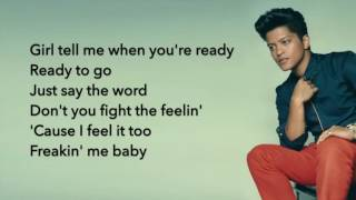 Bruno Mars Straight Up & Down Lyrics Bruno Mars #bruno #mars