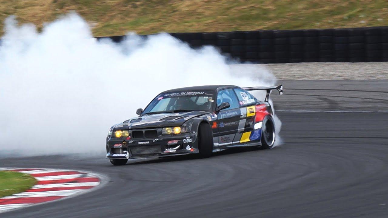 audi powered bmw e36 drift monster 786whp [ 1280 x 720 Pixel ]