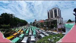 VIDEO 360 - Arsip Demo Sopir Angkot di Surabaya, 2 Oktober 2017