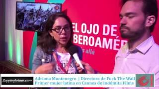 Adriana Montenegro en el Ojo 2016 para ZappingLatam