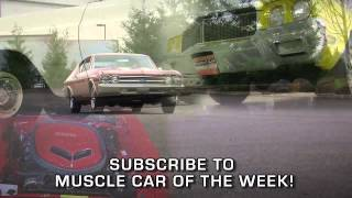 Subscribe To Muscle Car Of The Week!-Video