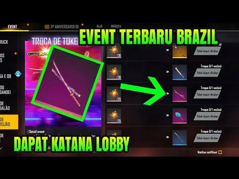 🔥 Skin katana lobby gratis event terbaru free fire brazil