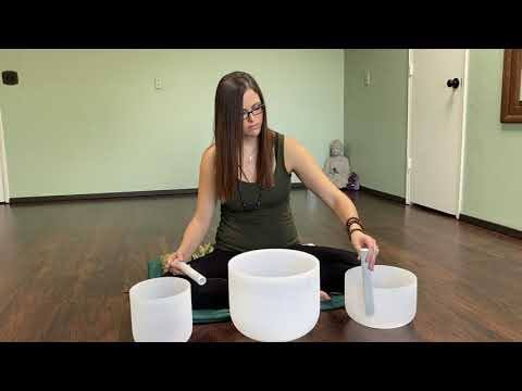 Harmony Crystal Singing Bowls Meditation with Reiki Energy @ Green Leaves Studio