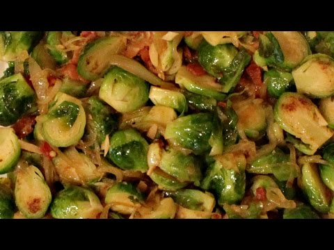 How to make brussel sprouts crispy
