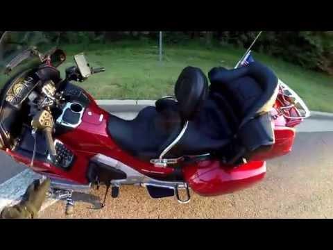 Test Ride with my new Kuryakyn Revolution Backrest
