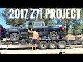 She's here!! 2017 Silverado Z71 project