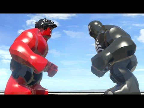 RED HULK VS VENOM - LEGO Marvel Super heroes - YouTube