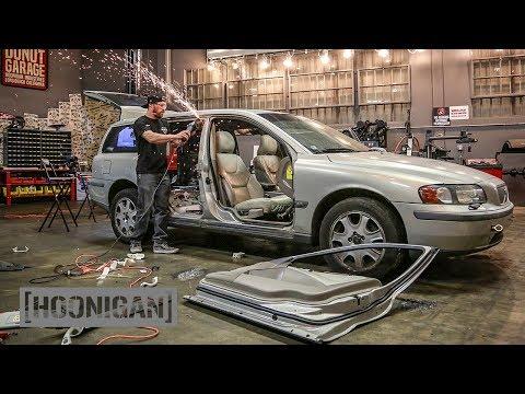Volvo Caster Car Build [Pt. 1] Stripped Down //DT241