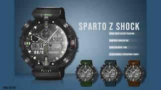 Analog-Digital Watch Design Timelapse